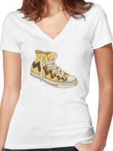 Chuck  Women's Fitted V-Neck T-Shirt