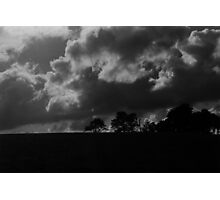 Clouds in Contrast Photographic Print