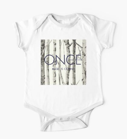 """Once Upon a Time (OUAT) - """"Magic is Coming."""" One Piece - Short Sleeve"""