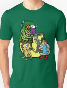 Courage the Cowardly Lion of OZ T-Shirt
