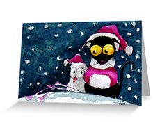 It's cold out there! Greeting Card