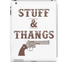 Stuff & Thangs iPad Case/Skin