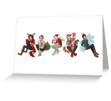 Christmas Direction Greeting Card