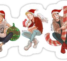 Christmas Direction Sticker