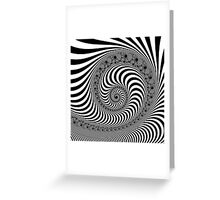 The Squirming Coil Greeting Card