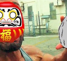 The Rock Daruma by Elfdemon