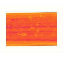 Silkscreens - 0011 - Abstract 1 Art Print