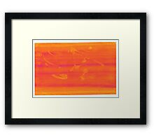 Silkscreens - 0011 - Abstract 1 Framed Print