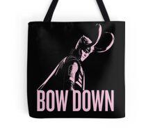 Loki: BOW DOWN Tote Bag