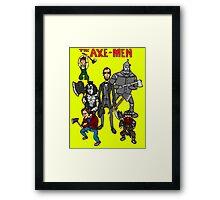 The Axe-Men Framed Print