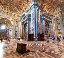 Grandeur in Saint Peter's by ektphotography