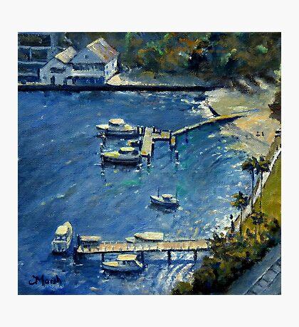 Deep Blue Lavender Bay, Sydney Harbour Photographic Print