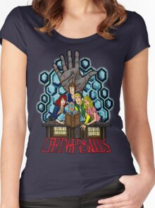 Cabin in the Woods Women's Fitted Scoop T-Shirt