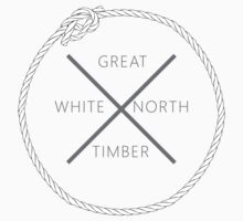 Great White North Timber Kids Tee