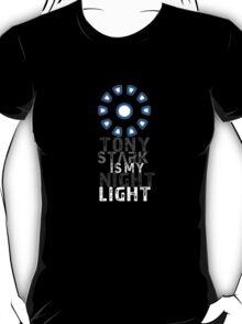 Tony Stark Is My Night Light T-Shirt