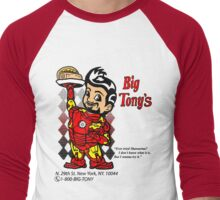 Big Tony's Men's Baseball ¾ T-Shirt