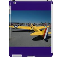 De Havilland Moth Minor @ Amberley Airshow 2008 iPad Case/Skin