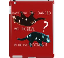 Dancing With the Devil iPad Case/Skin
