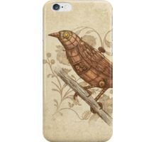 Steampunk Songbird  iPhone Case/Skin