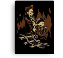 Hold onto your Potatoes, Dr. Hobbes! Canvas Print