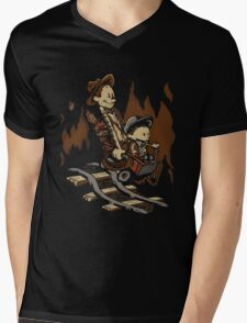 Hold onto your Potatoes, Dr. Hobbes! Mens V-Neck T-Shirt