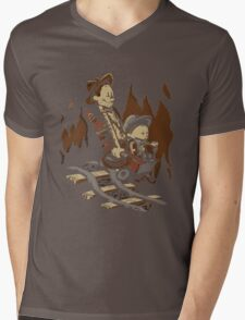 Hold onto your Potatoes, Dr. Hobbes! Mens V-Neck T-Shirt
