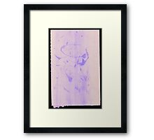 Silkscreens - 0016 - Abstract 2 Framed Print