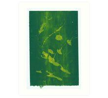 Silkscreens - 0017 - Abstract 3 Art Print