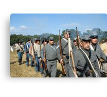 Confederate Army Canvas Print
