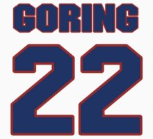 National Hockey player Butch Goring jersey 22 by imsport