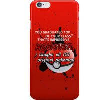 Pokemon Bragger iPhone Case/Skin