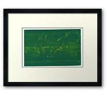 Silkscreens - 0019 - Abstract 5 Framed Print