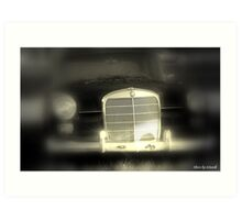 """""""Driving in Through the Past"""" Art Print"""