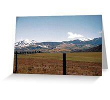Snowmass Colorado Greeting Card