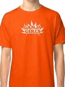 Ganja Girls Logo White Classic T-Shirt