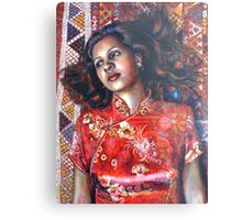 La Alfombra Roja (The Red Rug) Metal Print