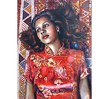 La Alfombra Roja (The Red Rug) Photographic Print