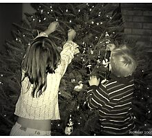 """Decorating The Christmas Tree"" by Bridget Banik"