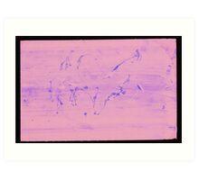 Silkscreens - 0020 - Abstract 6 Art Print