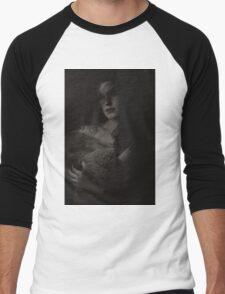 Madonna in fur Men's Baseball ¾ T-Shirt