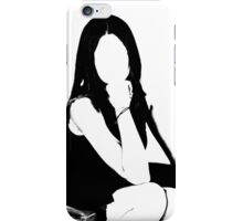 abstract model iPhone Case/Skin
