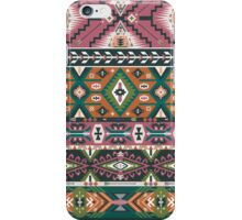 Сolorful decorative geometric pattern in tribal american style iPhone Case/Skin
