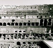The Colosseum - In Black & White by Michael Murphy
