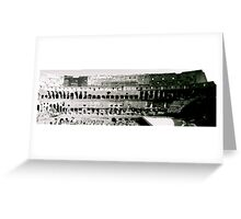 The Colosseum - In Black & White Greeting Card