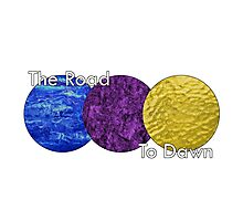 Riku Abstract - The Road to Dawn Photographic Print
