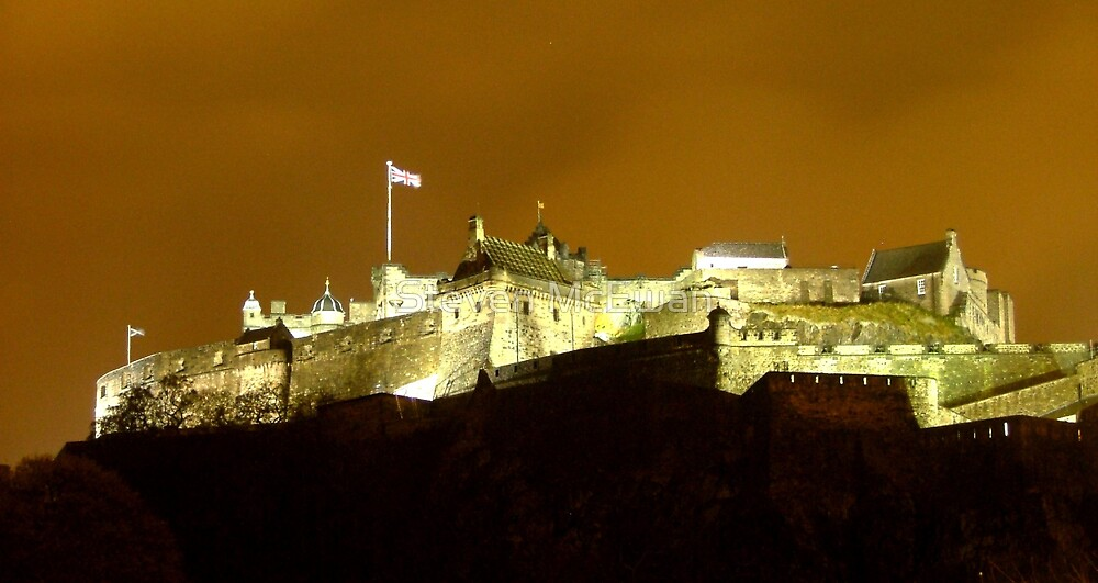 Edinburgh Castle by Steven McEwan