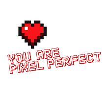 Pixel Heart Love Designer Photographic Print