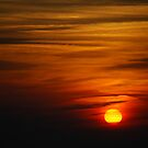 Sunset in Tossa de Mar by Vicent Alcaraz Coll