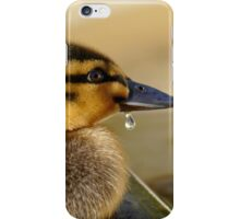 Just A Little Dribble - Rescued Duckling - NZ iPhone Case/Skin