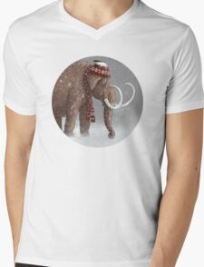 The Ice Age Sucked Mens V-Neck T-Shirt